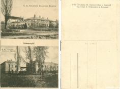 Казарми австрійської армії у Заліщиках (Оренштайн) Zaleszczyki