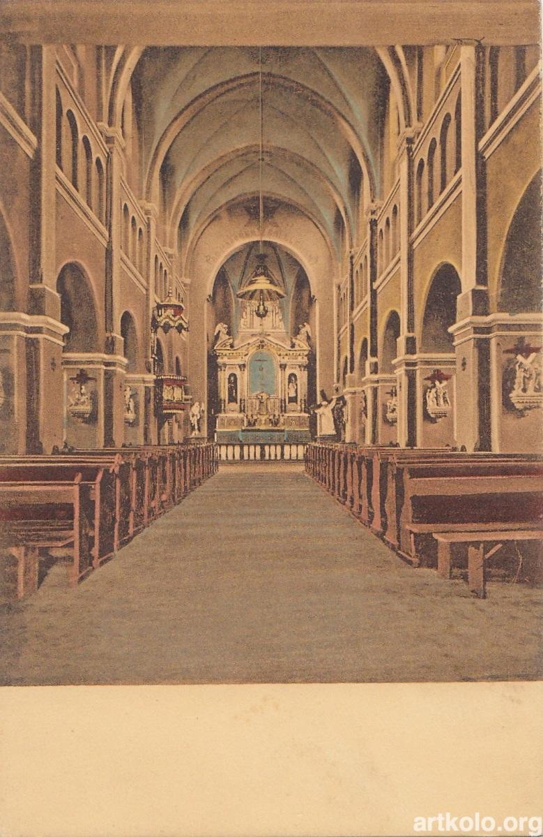 Костел Єзуїтів всередині (Мюллер)