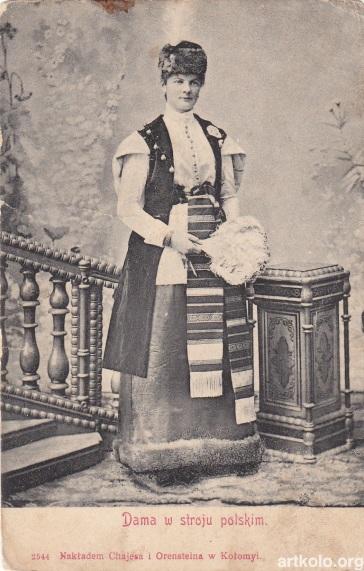 Дама в польскому одязі (Хаєс та Оренштайн)
