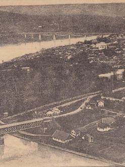 Міст через Дністер у Заліщиках (Оренштайн)