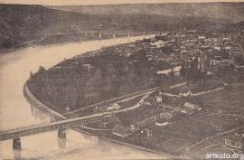 Міст через Дністер у Заліщиках (Оренштайн) Zaleszczyki