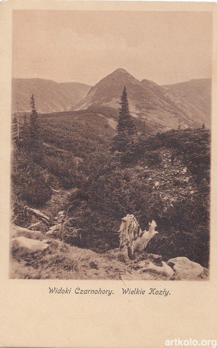 Чорногорські види - Козли (ТТ)