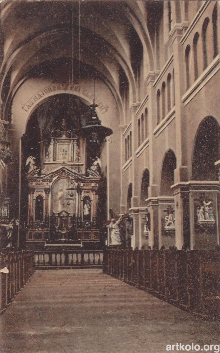 Костел Єзуїтів всередині (Жиборський)