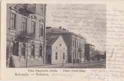 вул. Франца Йосифа (до 1904- Сененсіб) Kolomea Kolomyja Коломия