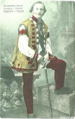 Гуцул (видано 1915 - Artystow we Wiedniu) ----- Hutsul