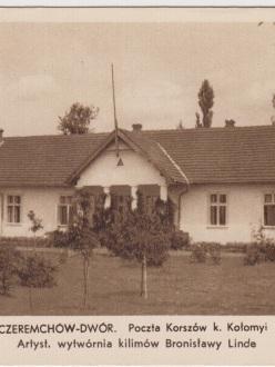 Коршів, пошта (Rotograwura v Poznaniu